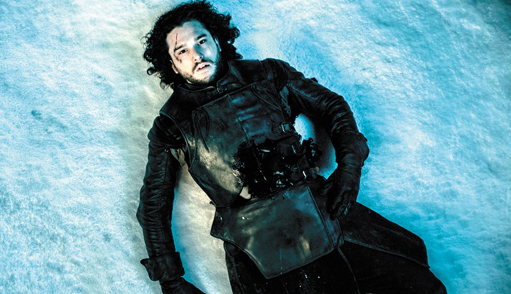 The author does not care if Jon Snow dies.