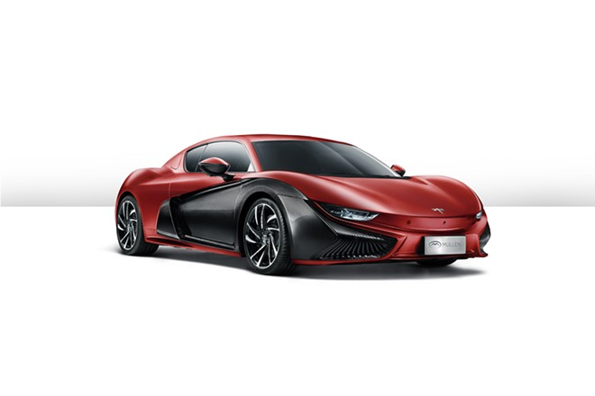 Mullen Technologies plans to bring its manufacturing of the Qiantu K50, an electric luxury sports car, to a site near the Spokane International Airport. - MULLEN TECHNOLOGIES