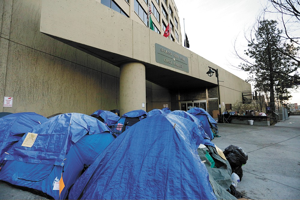 City Council President Ben Stuckart says he's opposed to homeless camps, but that it's illegal to ban them if there's not enough shelter space. - YOUNG KWAK PHOTO