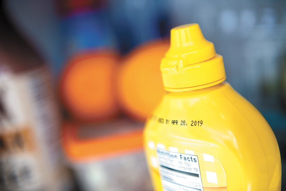 """See this mustard? It's fine to keep using it. """"Best by"""" labels aren't related to food safety, but rather taste and freshness. - DEREK HARRISON PHOTO"""