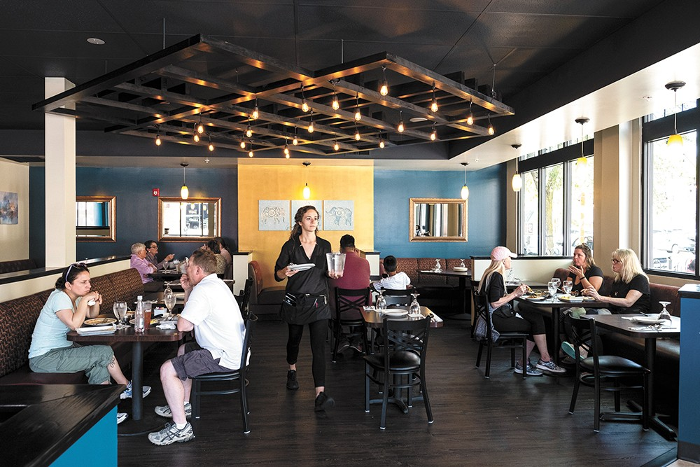 The Mango Tree opened last month in the former Hills' Restaurant space. - HECTOR AIZON PHOTO