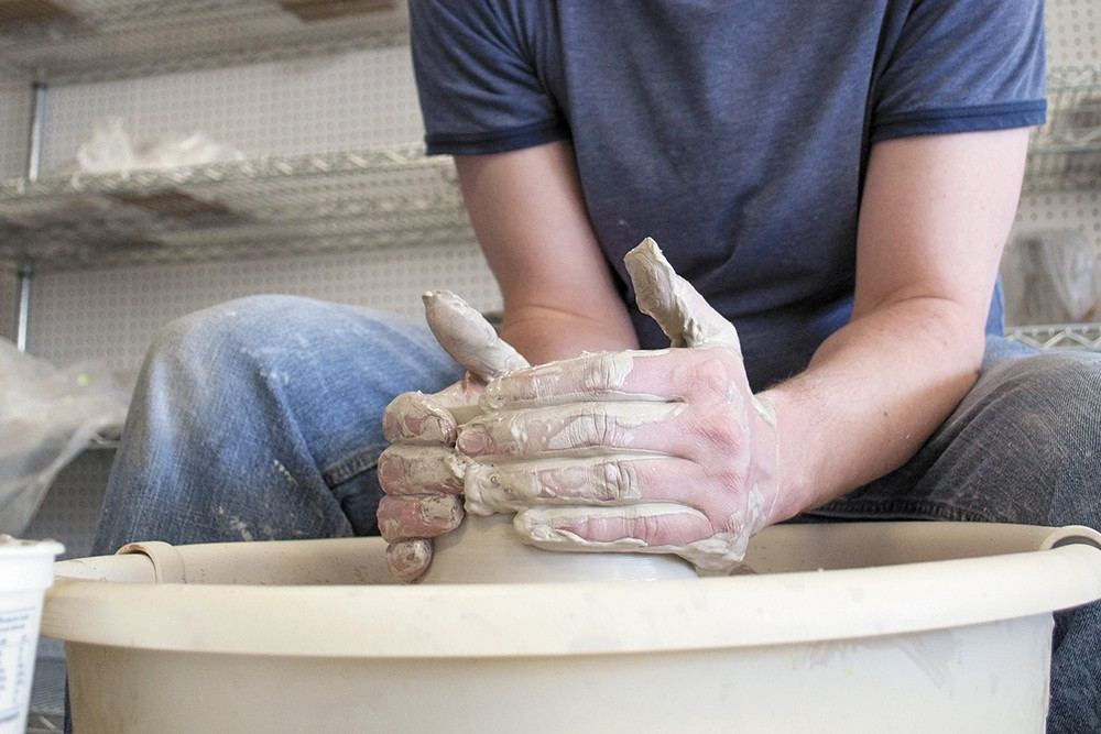 Get your hands dirty at Urban Art Co-Op this summer. - SARAH PHILP PHOTO
