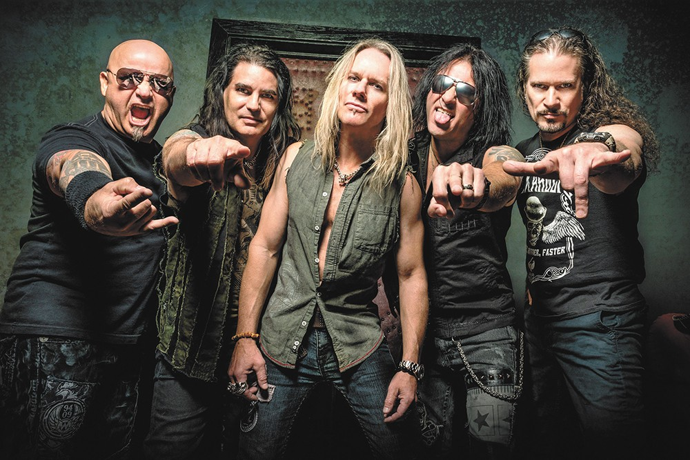 Warrant plays the Coeur d'Alene Casino on Aug. 9.
