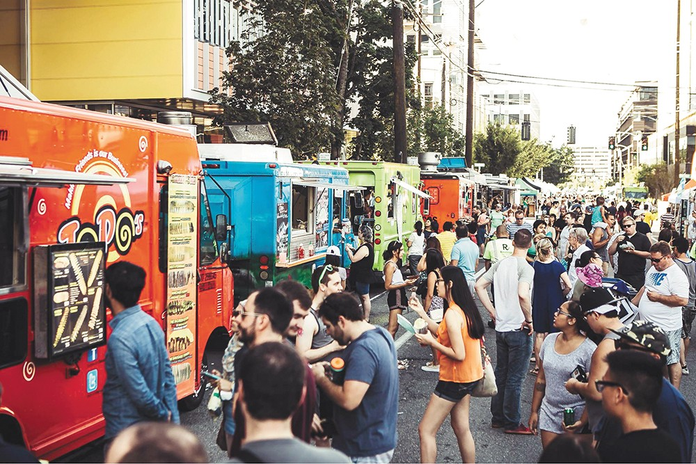 Seattle's Street Food Fest runs July 6-7.