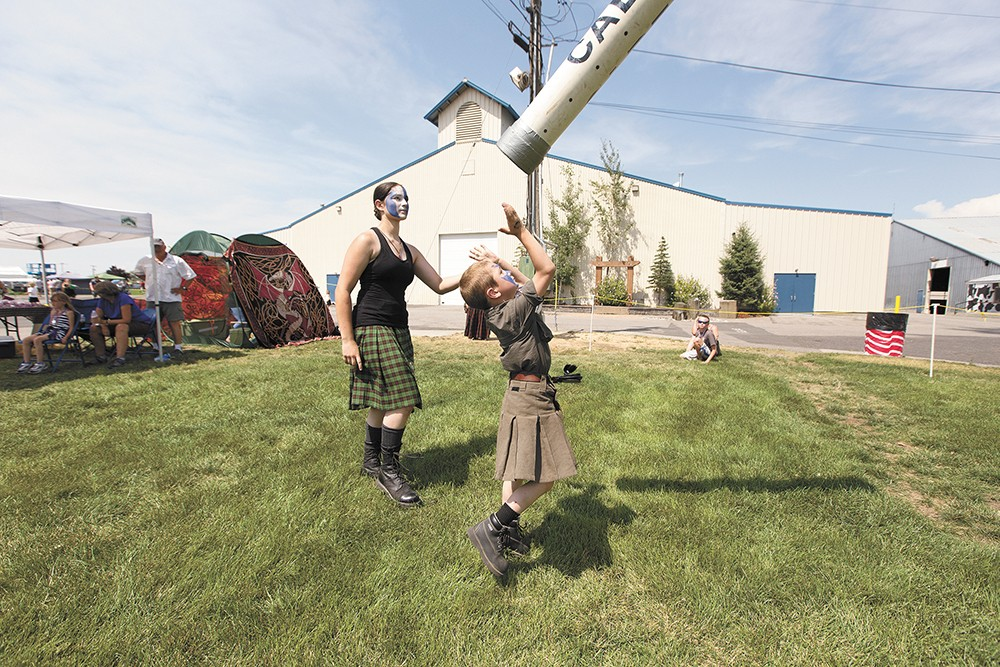The Spokane Scottish Highland Games return Aug. 3. - YOUNG KWAK PHOTO