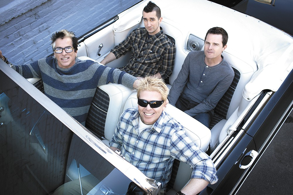 Punk unplugged: '90s alt-rock staples the Offspring go acoustic for their upcoming Knitting Factory show. - SAM JONES PHOTO