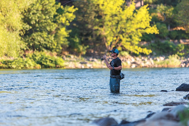 The Silver Bow Fly Shop offers beginner fly-fishing classes to get you out on the water. - MATT WEIGAND PHOTO