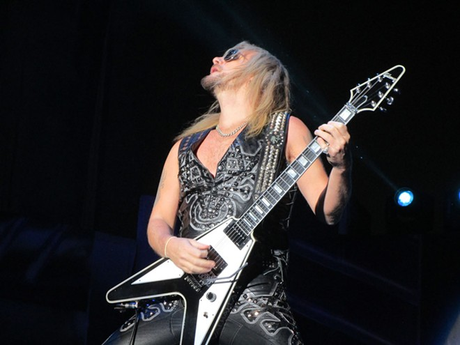 Richie Faulkner, shredding. - DAN NAILEN PHOTO