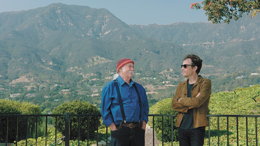 David Crosby (left) and Jakob Dylan