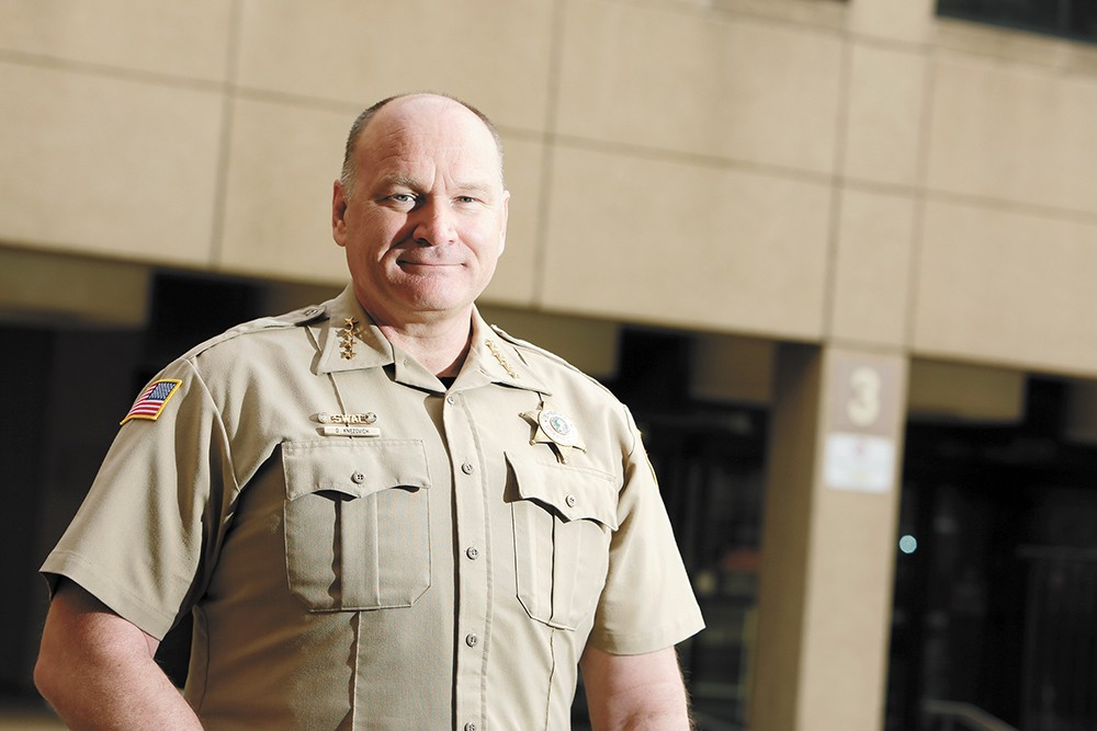 Sheriff Ozzie Knezovich - YOUNG KWAK PHOTO