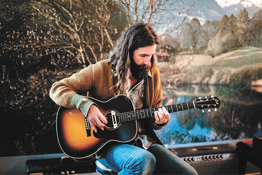 """Self-described """"emotional dude"""" Tyler Ramsey brings his serene, starlit sound to the Bartlett. 