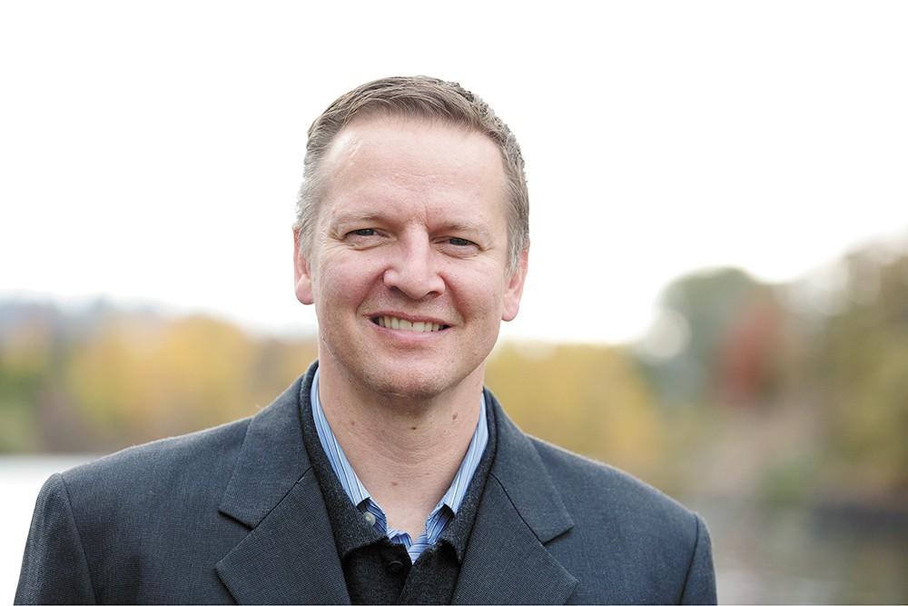 Spokane author Shann Ray.