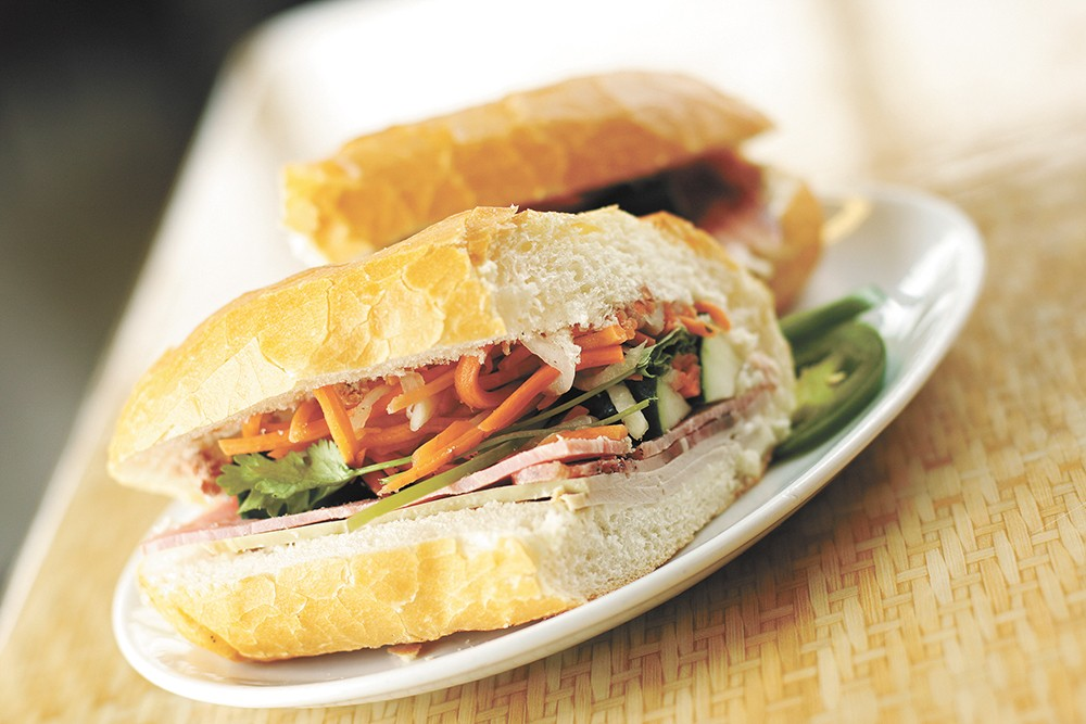 Vien Dong remains king of banh mi bargains. - YOUNG KWAK PHOTO