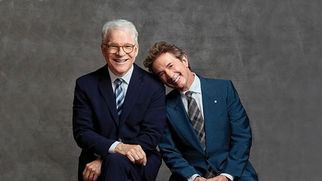 Steve Martin (left) and Martin Short