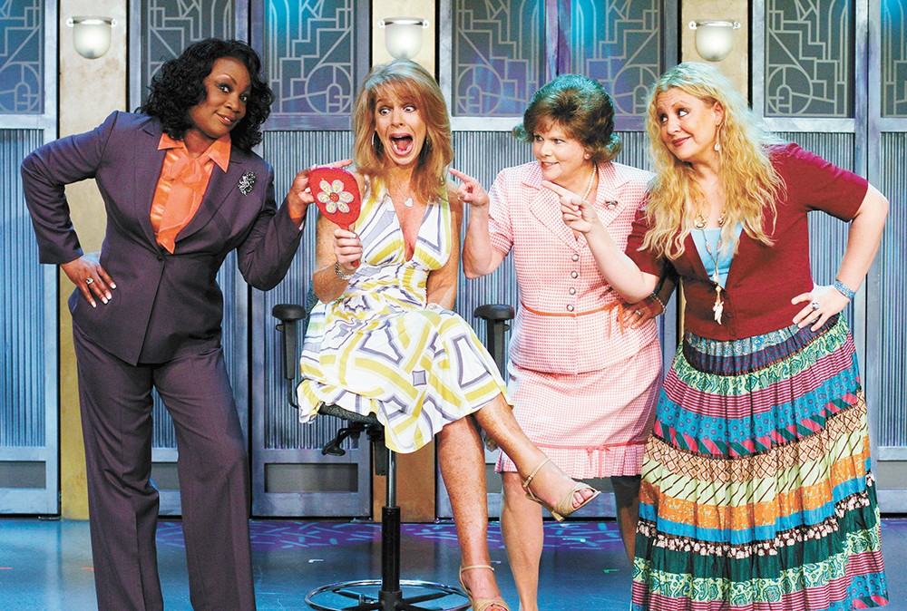 "Four strangers tackle ""the change"" in Menopause the Musical. - GFOUR PRODUCTIONS PHOTO"