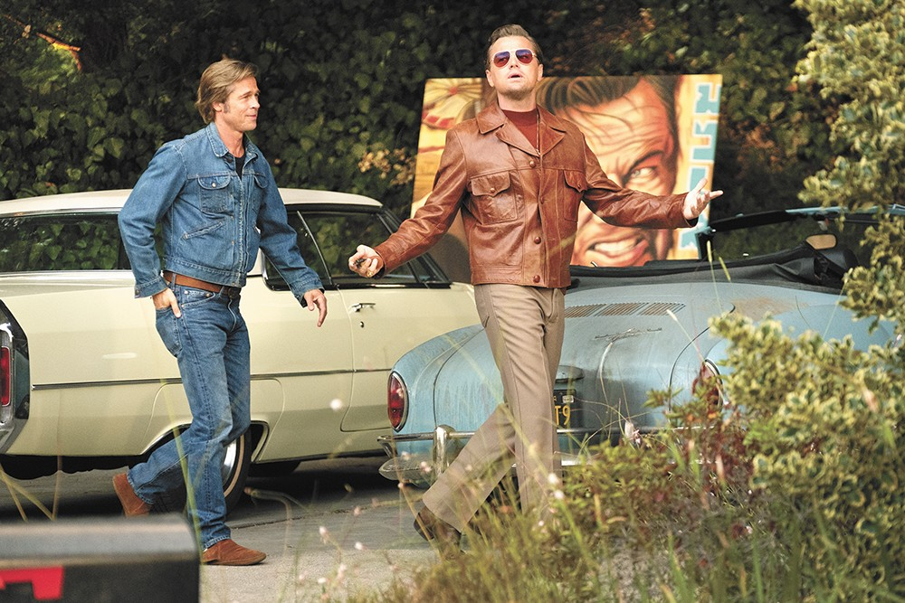 Brad Pitt and Leonardo DiCaprio return to the Tarantino-verse with Once Upon a Time in... Hollywood.