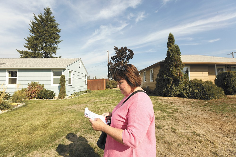 City Councilwoman Karen Stratton doesn't just aim to represent northwest Spokane residents — she wants to protect rank-and-file workers at City Hall. - YOUNG KWAK PHOTO