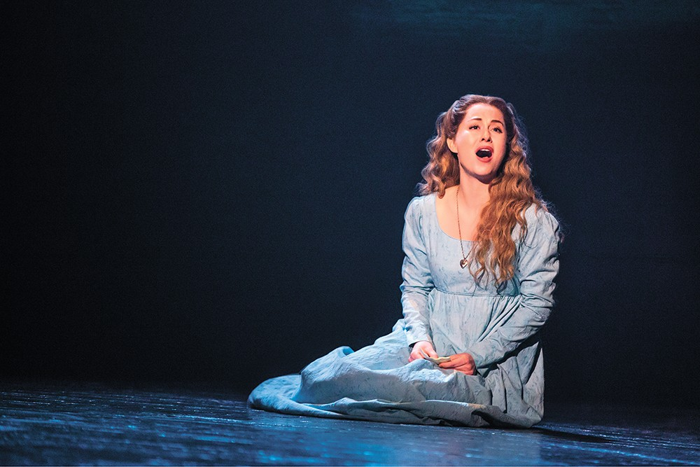 Mary Kate Moore as Fantine. - MATTHEW MURPHY PHOTO