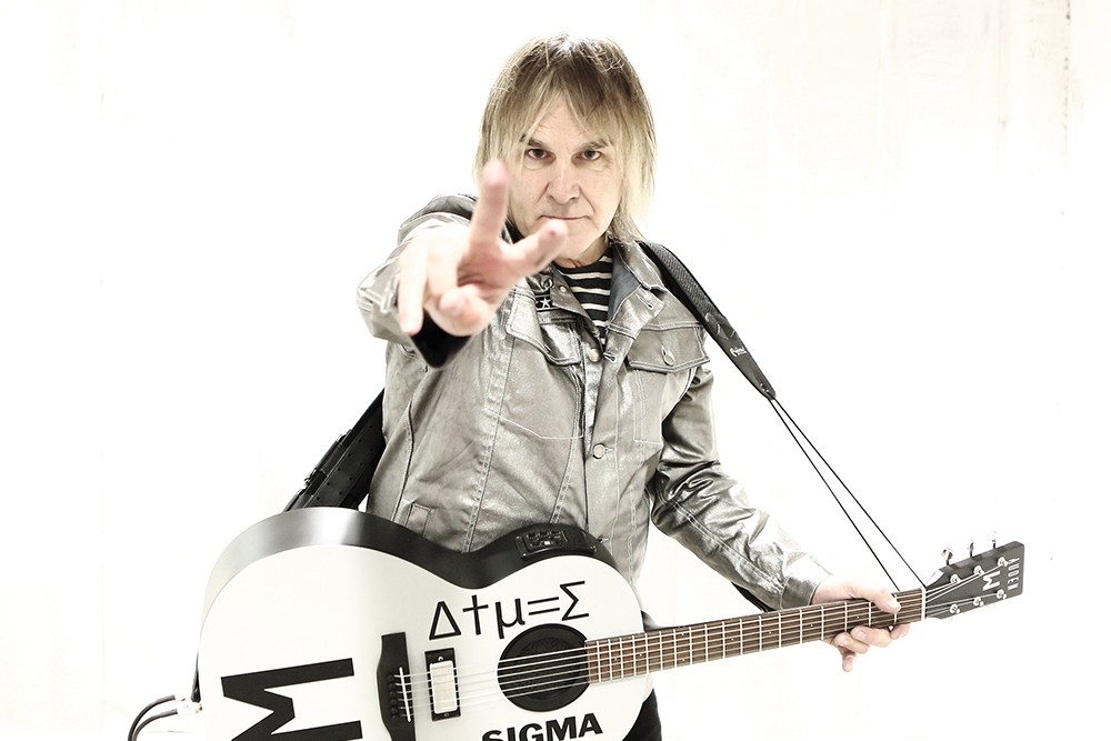 Mike Peters of the Alarm. - STUART LING PHOTO