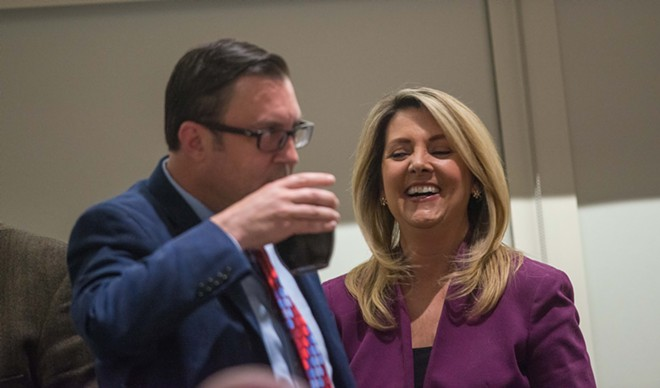This photo kinda sums up last night's election results. - DANIEL WALTERS PHOTO