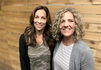 Jana Oliveri and Cathy Peroff