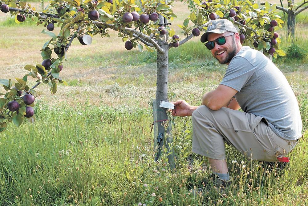 Kyle Nagy oversees the Sandpoint agriculture center. - CARRI SCOZZARO PHOTO