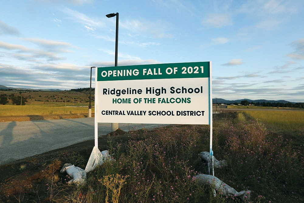 Central Valley's new Ridgeline High School has been designed to accommodate 1,600 students. - YOUNG KWAK PHOTO