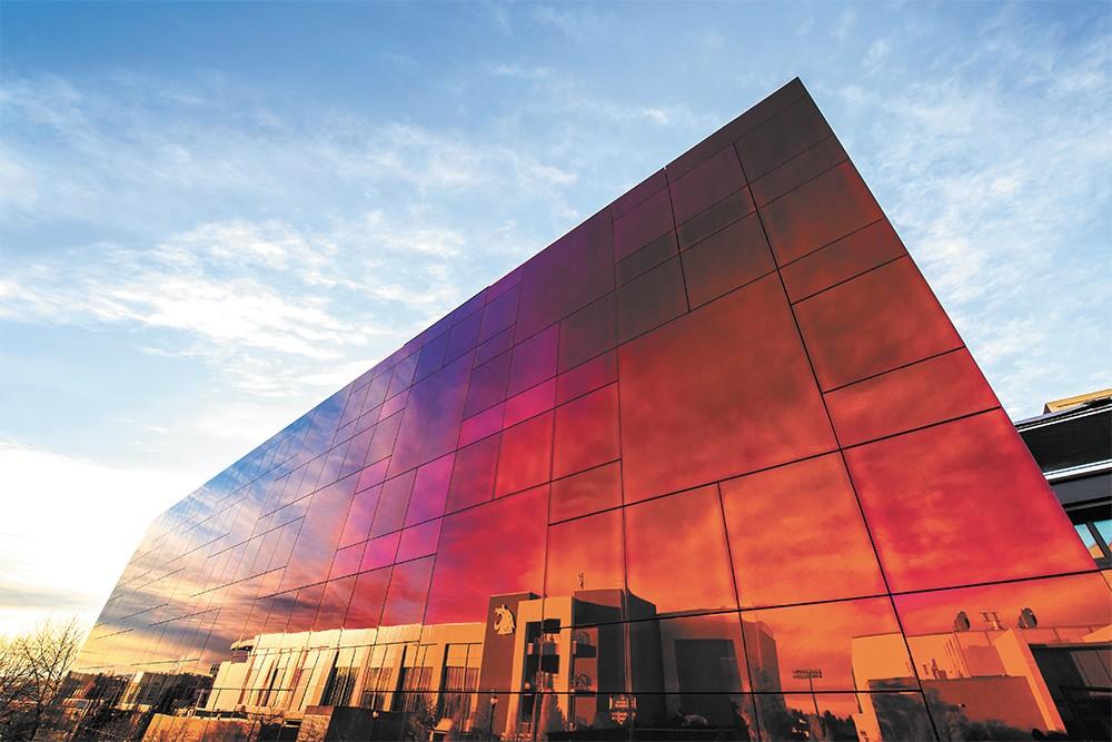 The Crimson Cube - WSU PHOTO