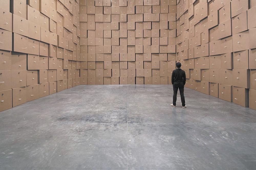 The Zimoun installation at U of I runs through Sept. 22. - PRICHARD ART GALLERY PHOTO