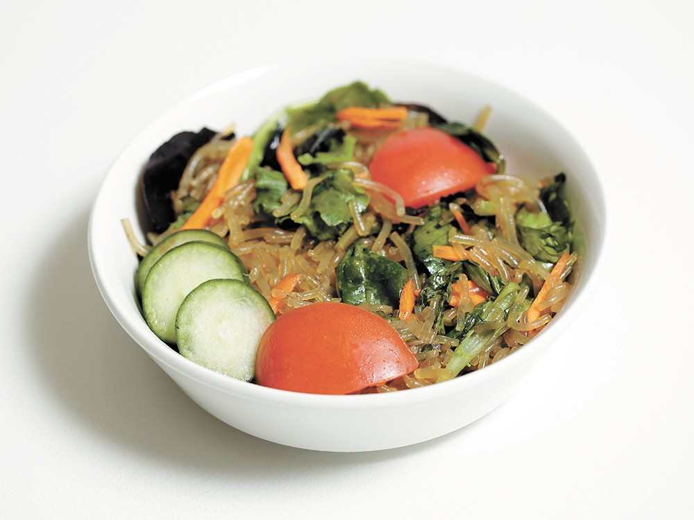 A Korean noodle salad from Ephata Cafe. - YOUNG KWAK PHOTO