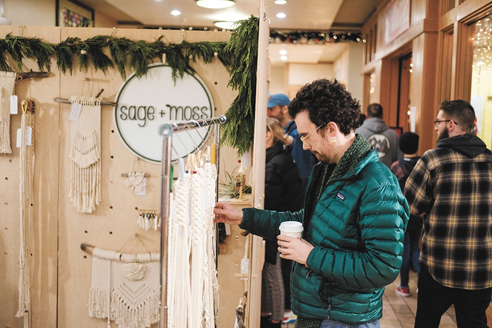 Shop local right inside River Park Square at Terrain's Brrrzaar. - CODY SCHROEDER PHOTO