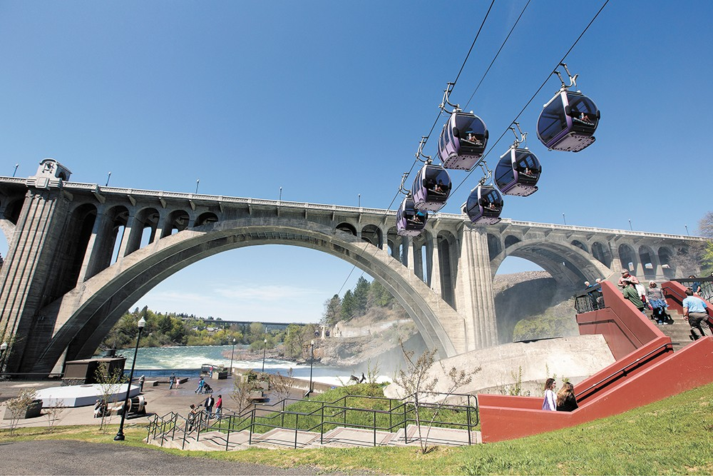 The Numerica SkyRide also got a technical update as part of the bond project. - YOUNG KWAK PHOTO