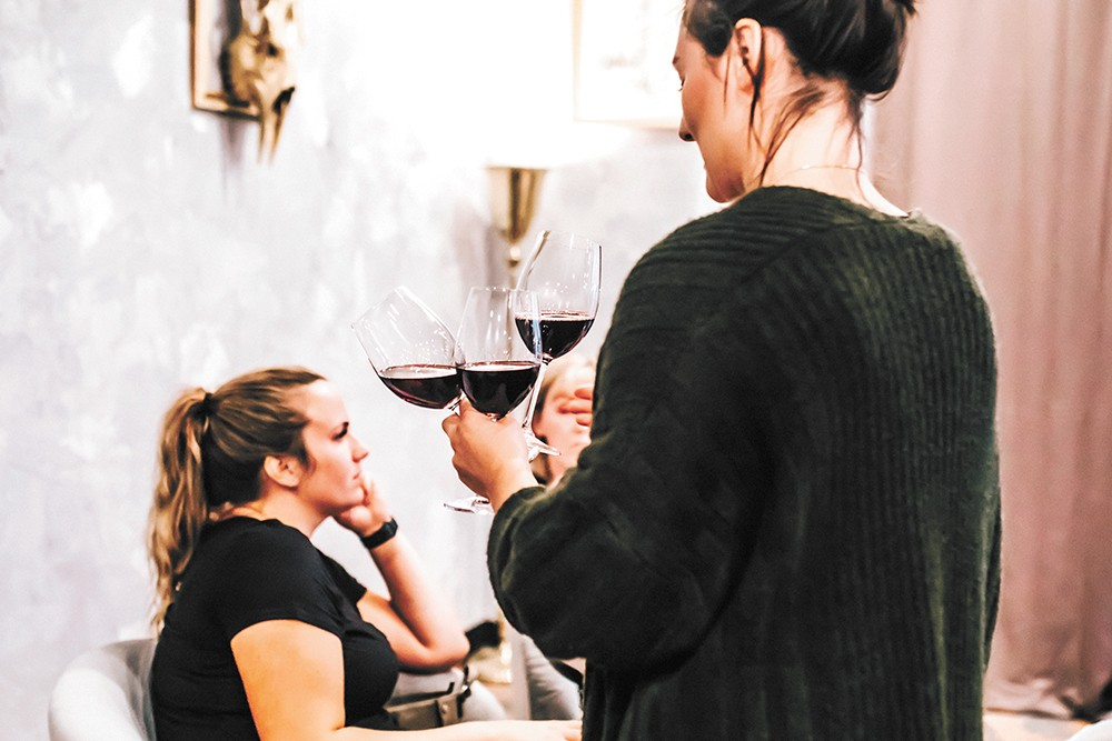 Whim offers an approachable introduction to the wide world of wine, plus newness for experienced tasters. - ALICIA HAUFF PHOTO