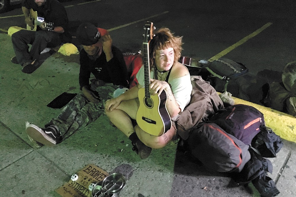 Street buskers. - SAMANTHA WOHLFEIL PHOTO