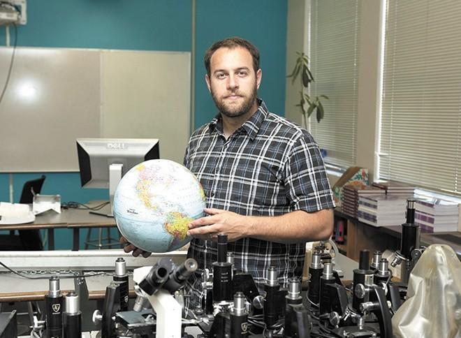 Travis Franklin, founder of Spokane International Academy. - TIMOTHY PHILLIPS PHOTO