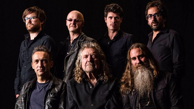 Robert Plant and his Sensational Space Shifters