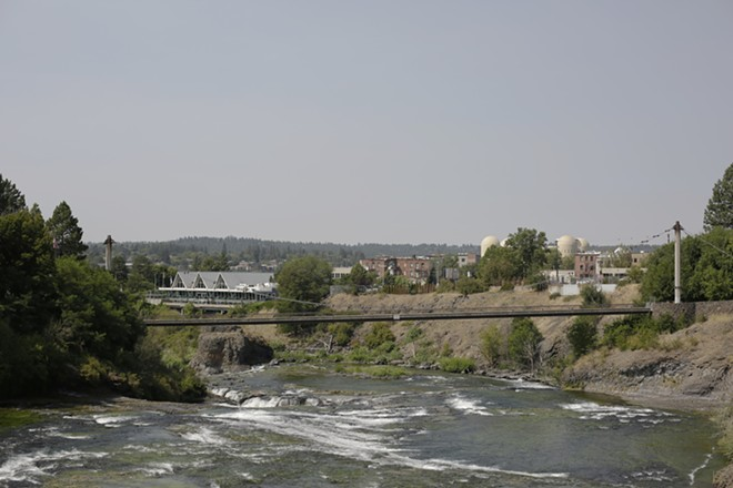 A community forum at Gonzaga next week will focus on a proposed first-in-the-nation exception to toxic pollutant rules involving pollutants that spill into the Spokane River. - YOUNG KWAK PHOTO