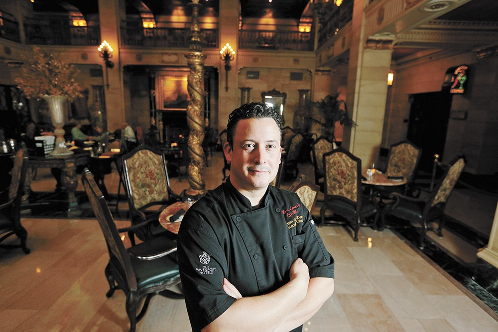 Palm Court Grill Executive Chef Adam Swedberg.