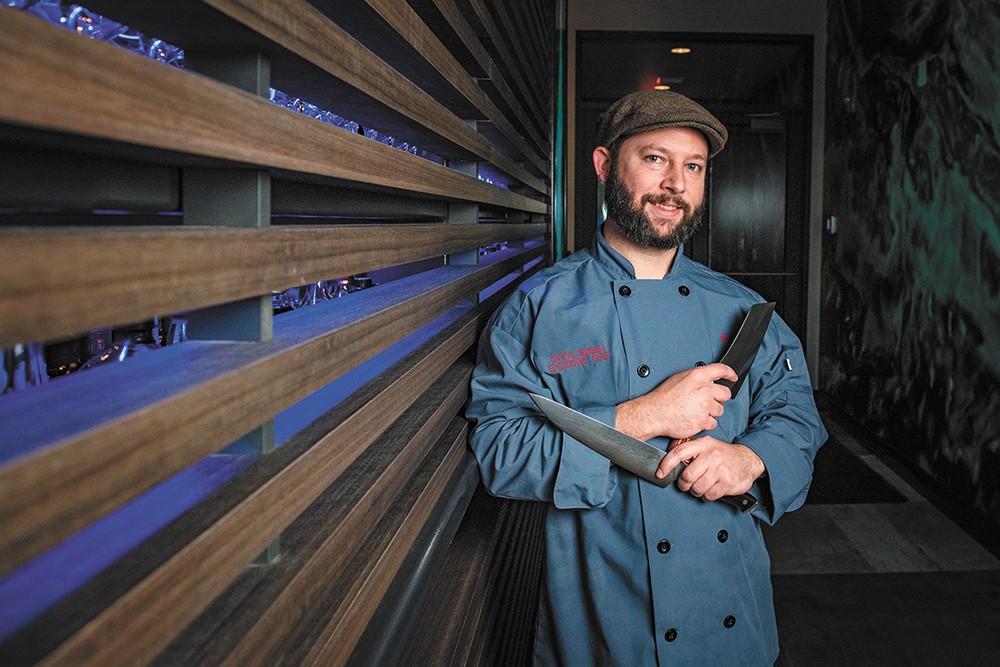 Chef Steve Jensen is leading Osprey's kitchen. - ERICK DOXEY PHOTO