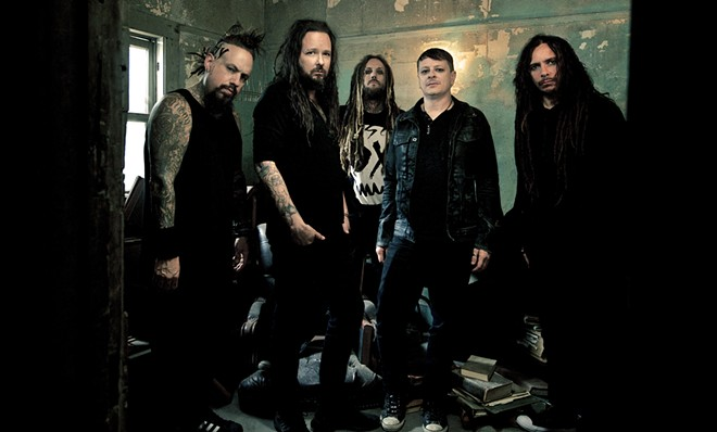 Korn perform alongside Breaking Benjamin on Feb. 26 at the Arena. - DEAN KARR PHOTO