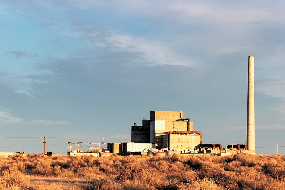 Hanford's decommissioned B Reactor. - COURTESY OF THE NATIONAL PARK SERVICE