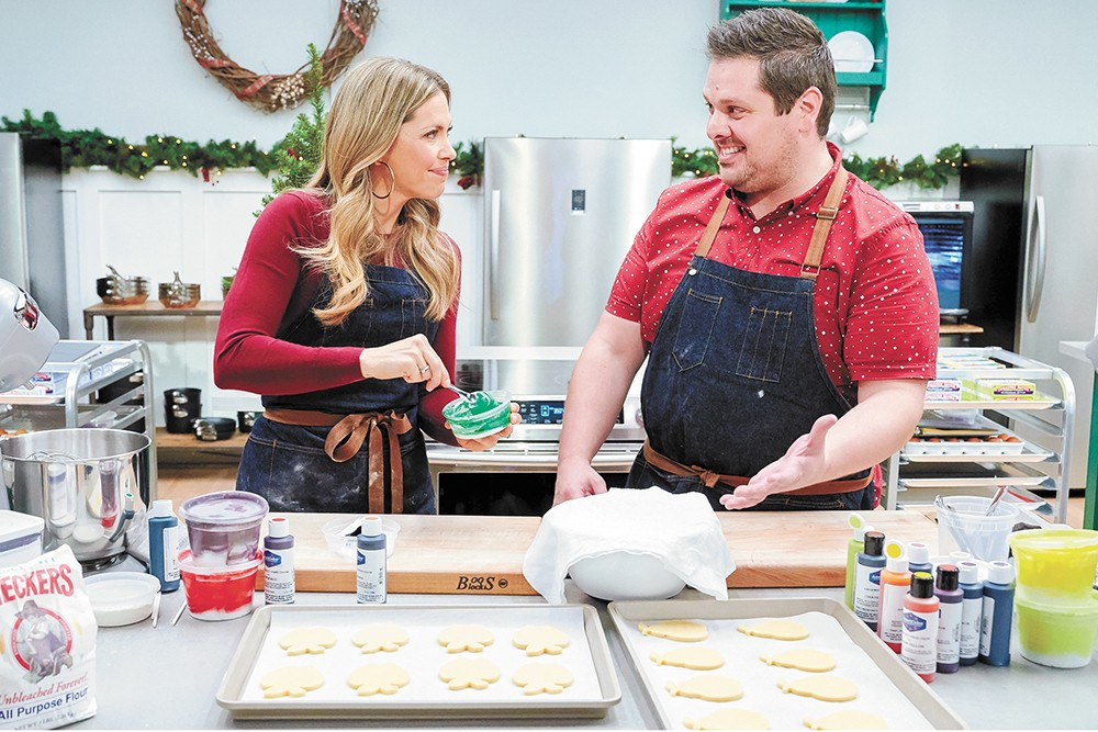 Ricky Webster competes on the Hallmark Channel's new show.