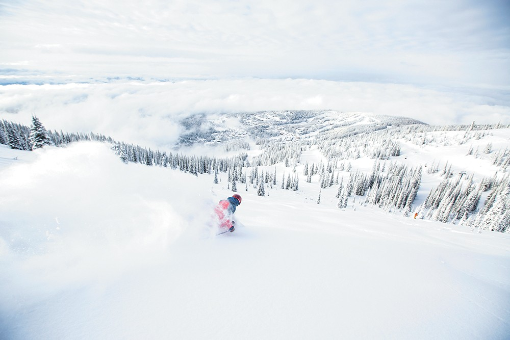 It's impossible not to enjoy the awe-inspiring views at Whitefish. - WHITEFISH MOUNTAIN RESORT/CRAIG MOORE PHOTO