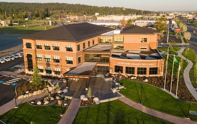 Spokane Valley City Hall - CITY OF SPOKANE VALLEY