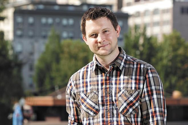 Ryan Oelrich, executive director of Priority Spokane - YOUNG KWAK