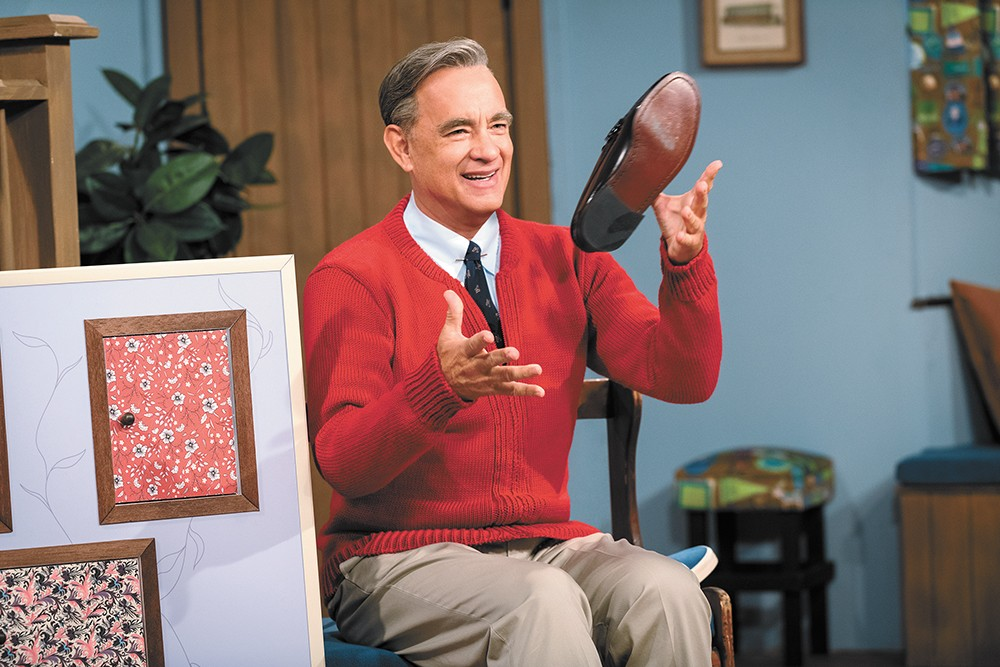 Tom Hanks is Mister Rogers.