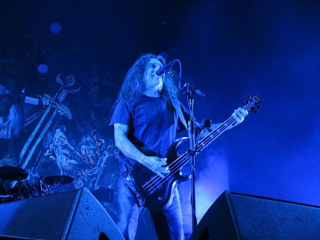 Slayer's Tom Araya. - DAN NAILEN