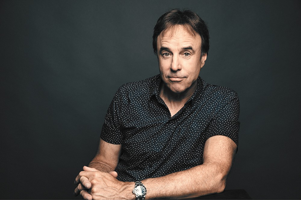 Kevin Nealon is as tall as he is funny. - DIANA RAGLAND PHOTO