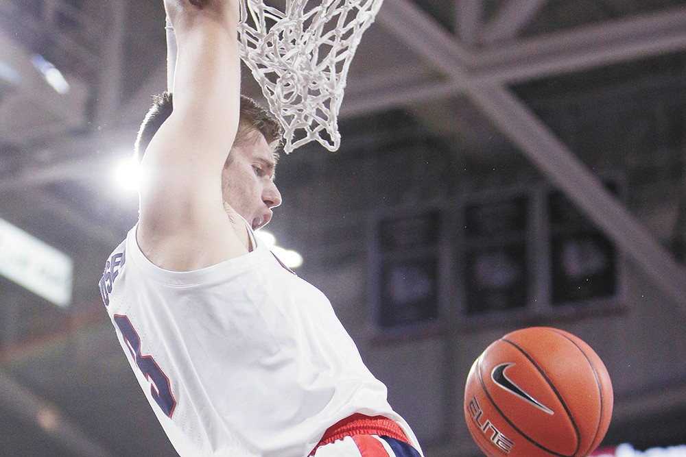 The Zags take on UNC on Dec. 18. - YOUNG KWAK PHOTO