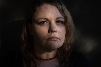 Kerry Gaude was raped by Michael Miller after the two met on OkCupid. Miller pleaded guilty to sexual exploitation and assault charges. Gaude said she frequently saw Miller on OkCupid after the sentencing. - RACHEL WOOLF FOR PROPUBLICA